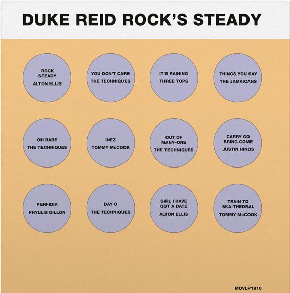Buy Online Various Artists - Duke Reid Rocks Steady Coloured