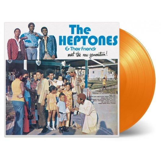 Buy Online The Heptones & Their Friends - Meet The Now Generation (Orange Vinyl)