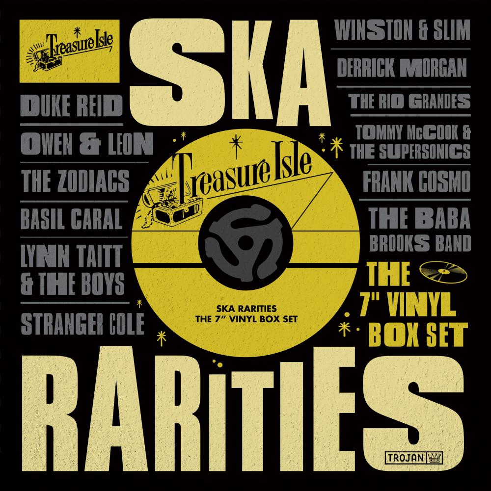 Buy Online Various Artists - Treasure Isle Ska Rarities: The 7-Inch Vinyl Box Set