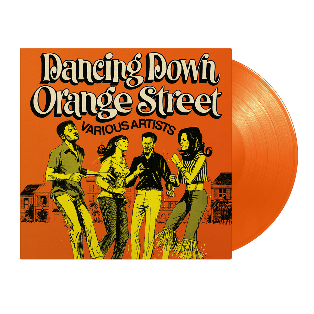 Buy Online Various Artists - Dancing Down Orange Street Coloured Vinyl