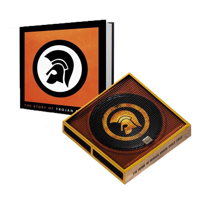 Buy Online Trojan Records - The Story Of Trojan Book + Box Set + Exclusive 8-Track CD Featuring Rare & Unreleased Trojan Tracks
