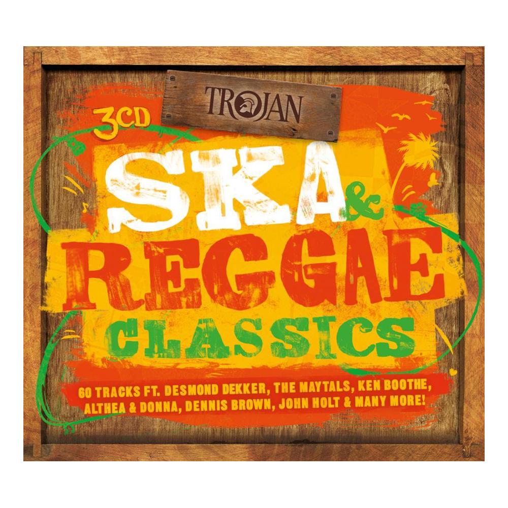 Buy Online Trojan Records - Ska & Reggae Classics 3CD Album