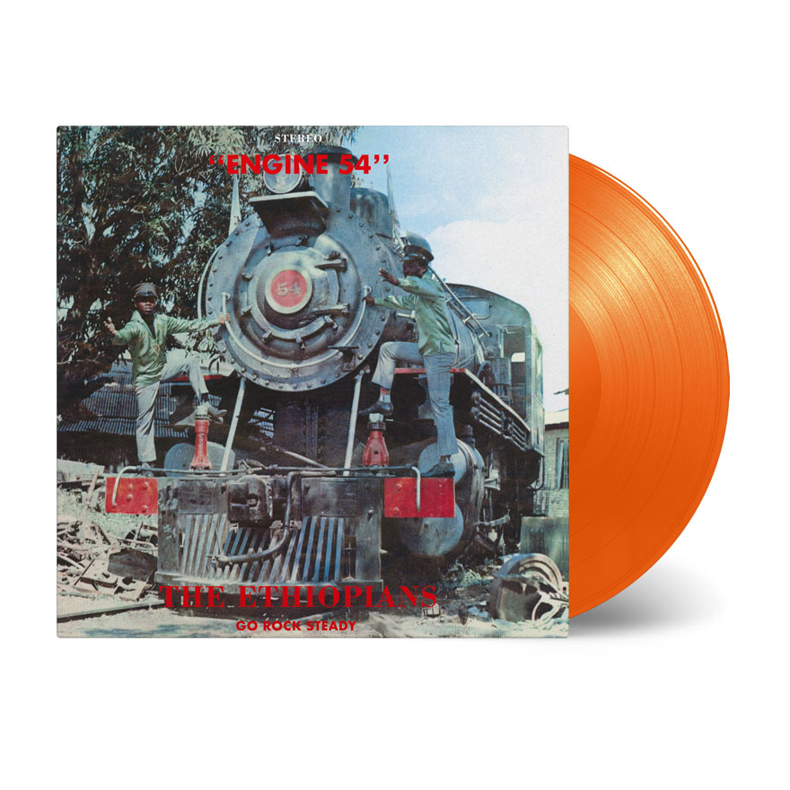 Buy Online The Ethiopians - Engine 54 Orange Vinyl