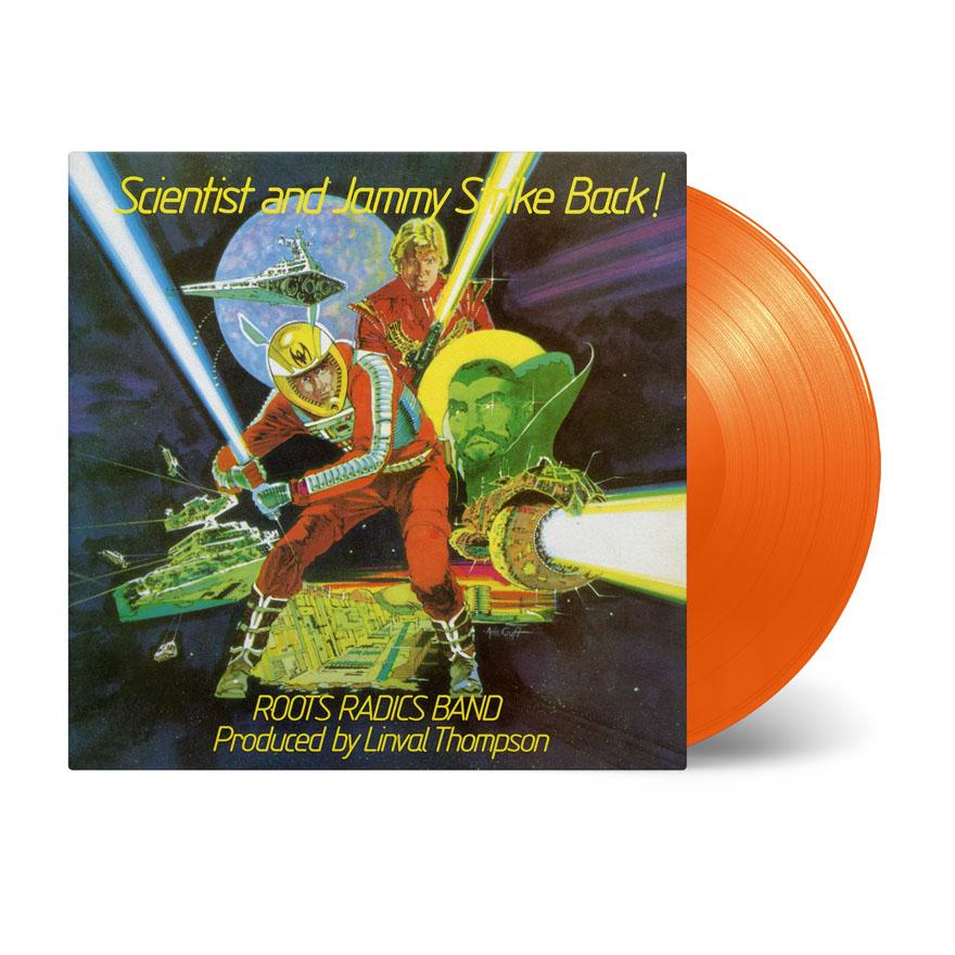 Buy Online Scientist & Prince Jammy - Scientist & Prince Jammy Strike Back! Orange Vinyl