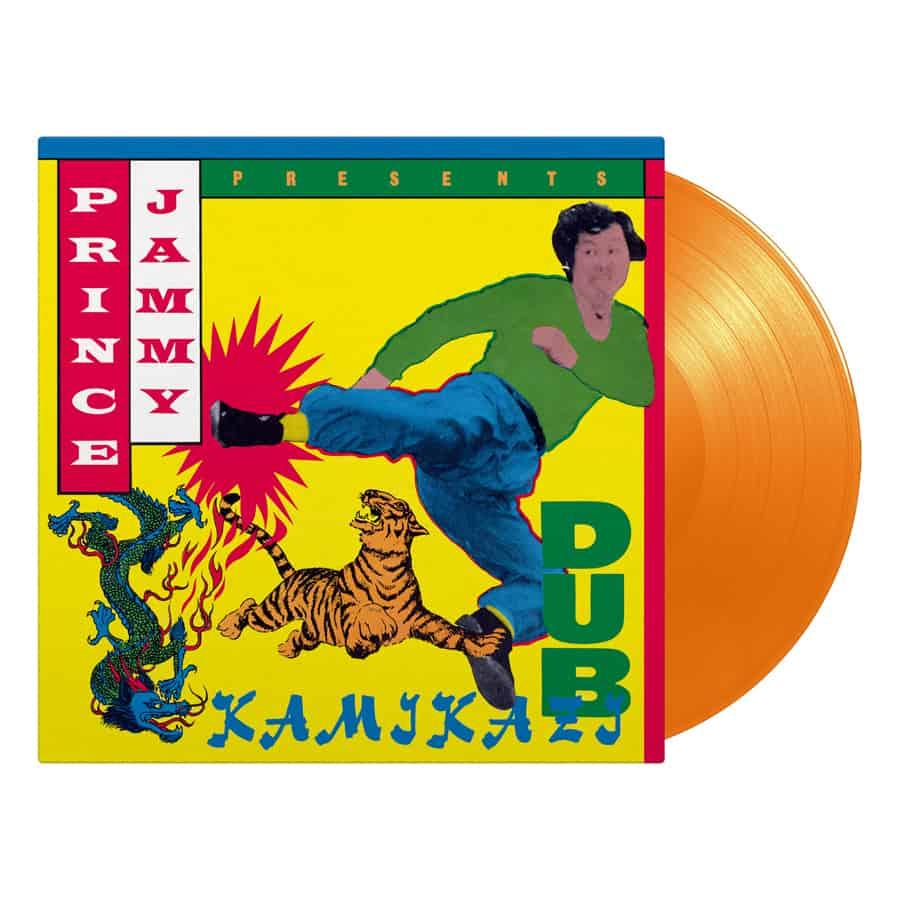 Buy Online Prince Jammy - Kamikazi Dub Orange Vinyl
