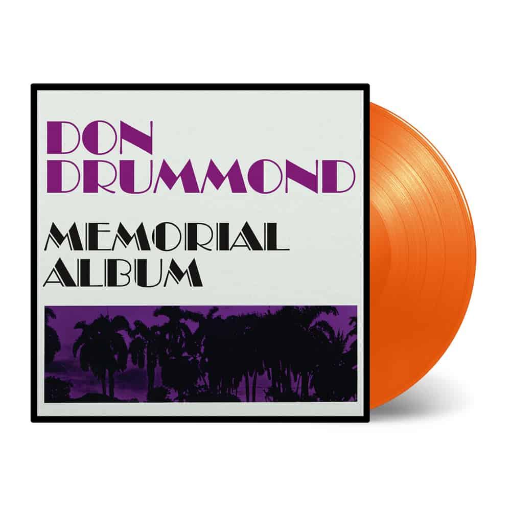 Buy Online Don Drummond - Memorial Album Orange Vinyl