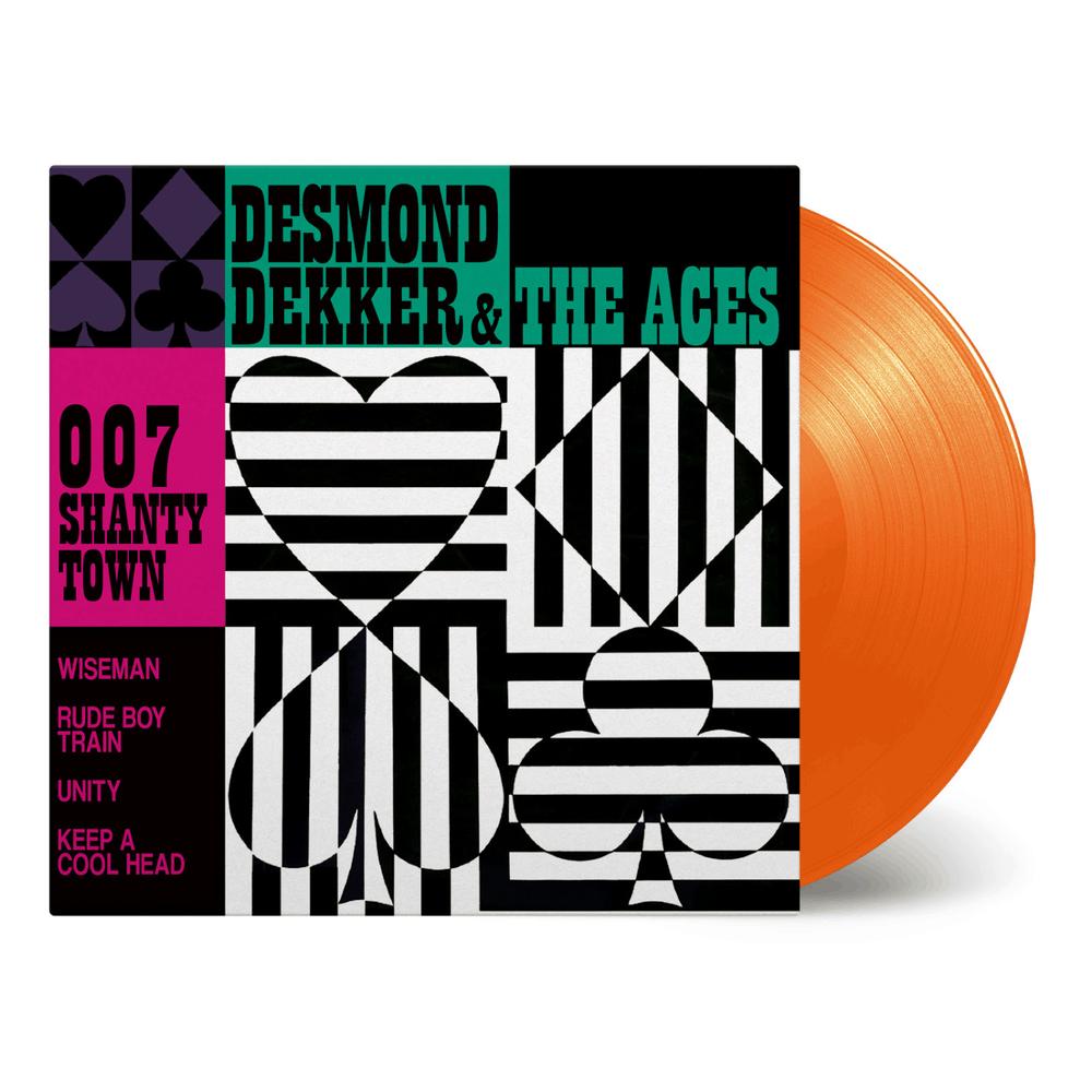 Buy Online Desmond Dekker and The Aces - 007 Shanty Town Orange Vinyl