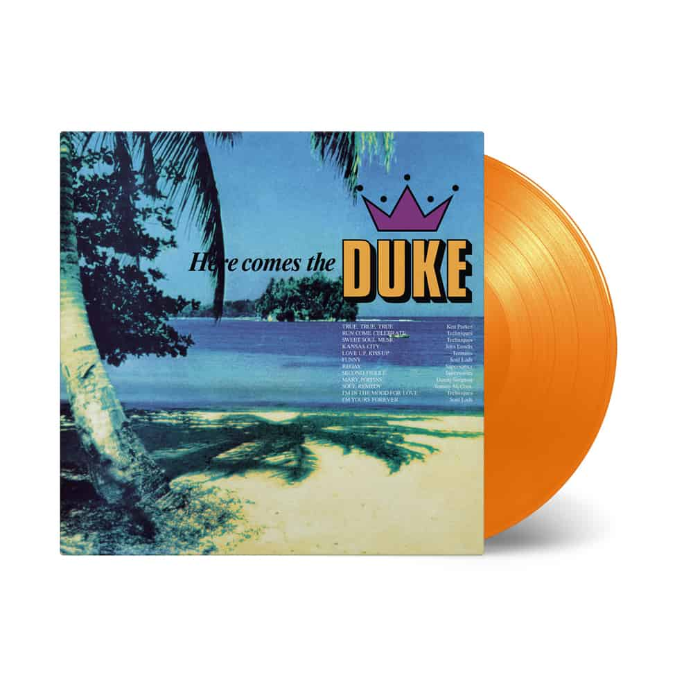 Buy Online Various Artists - Here Comes The Duke Orange