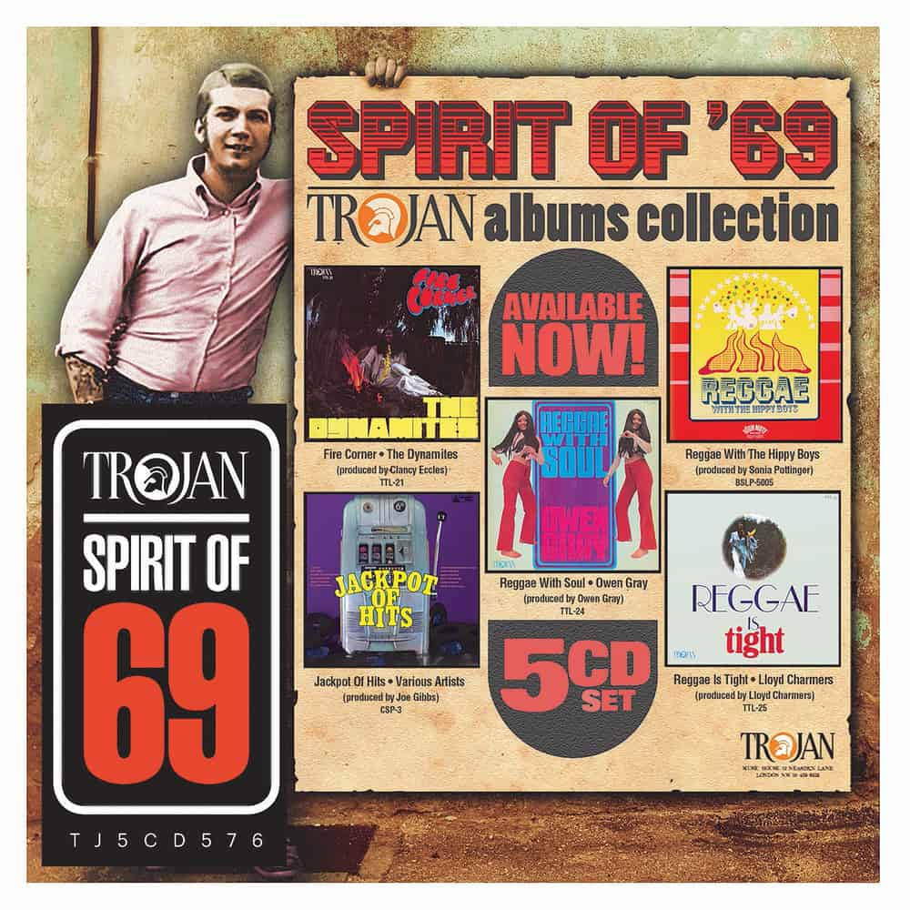 Buy Online Trojan Records - The Spirit Of 69 Albums CD Collection