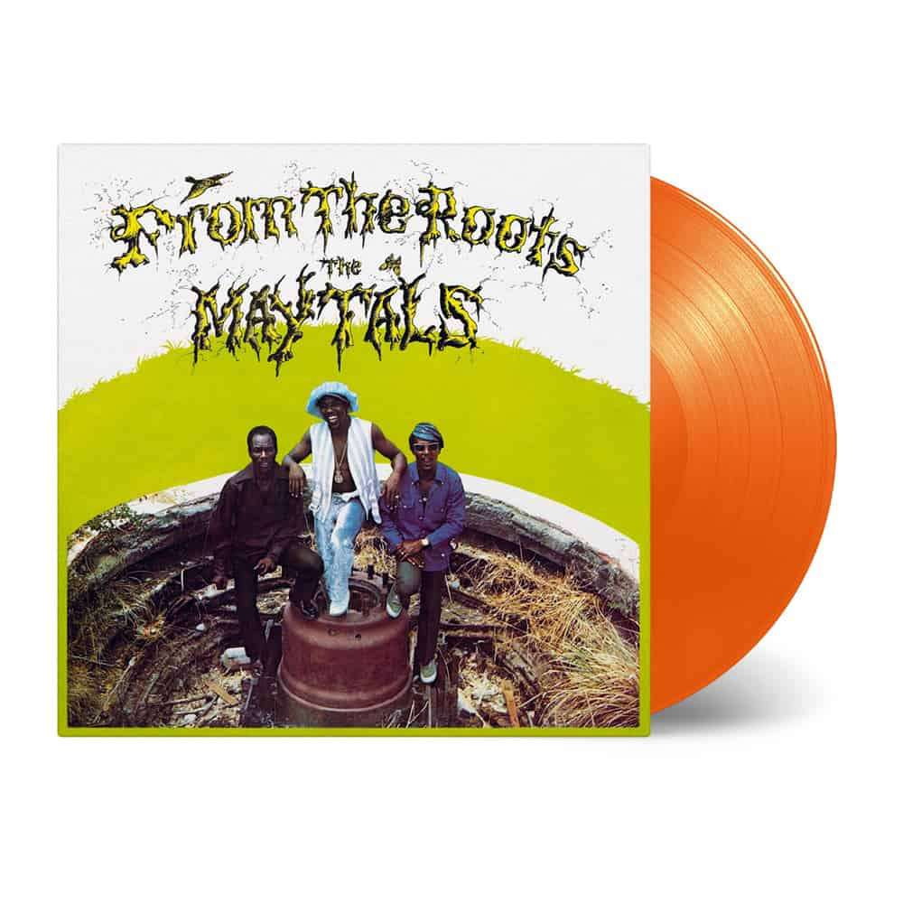 Buy Online The Maytals - From The Roots Orange Vinyl