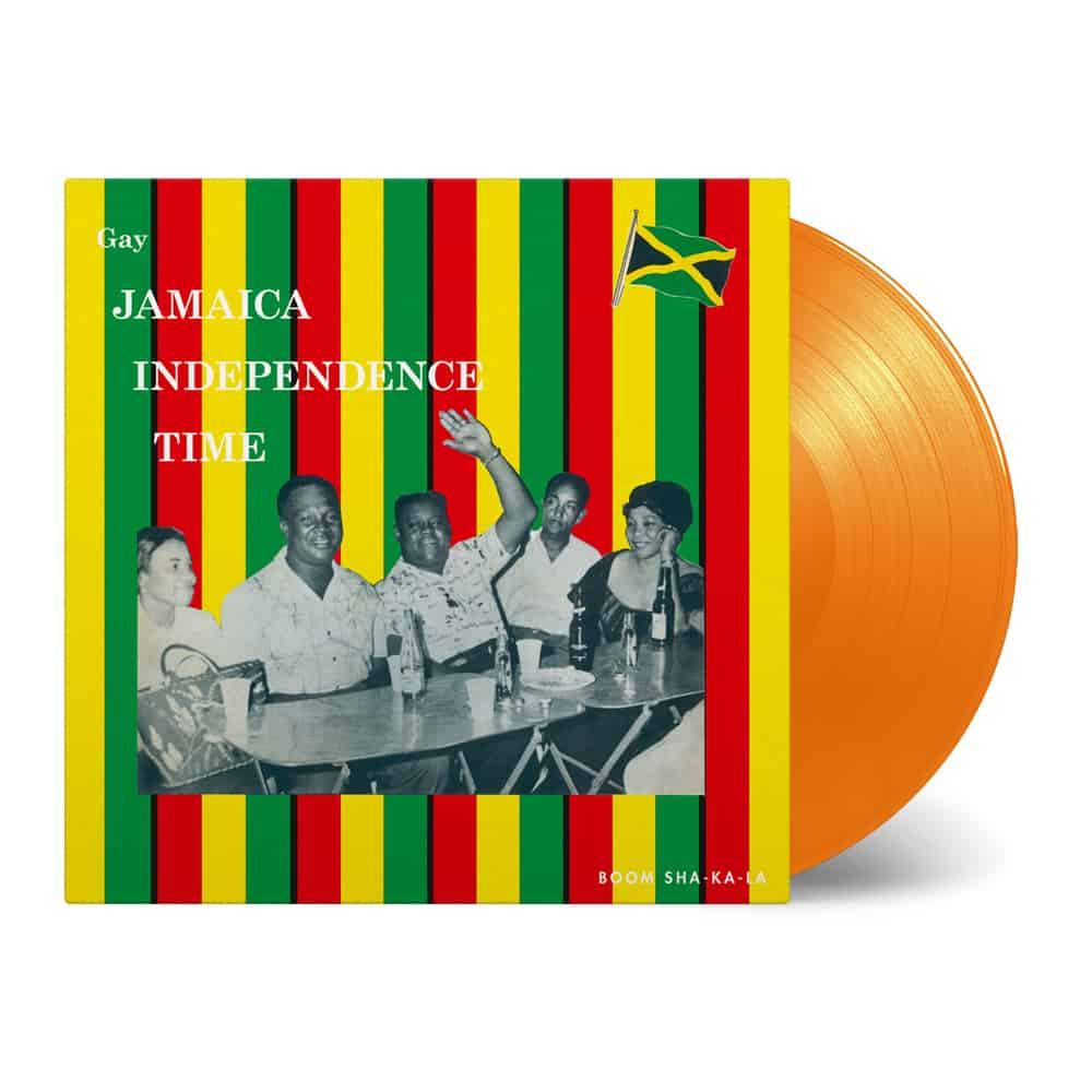 Buy Online Various Artists - Gay Jamaica Independence Time Orange Vinyl