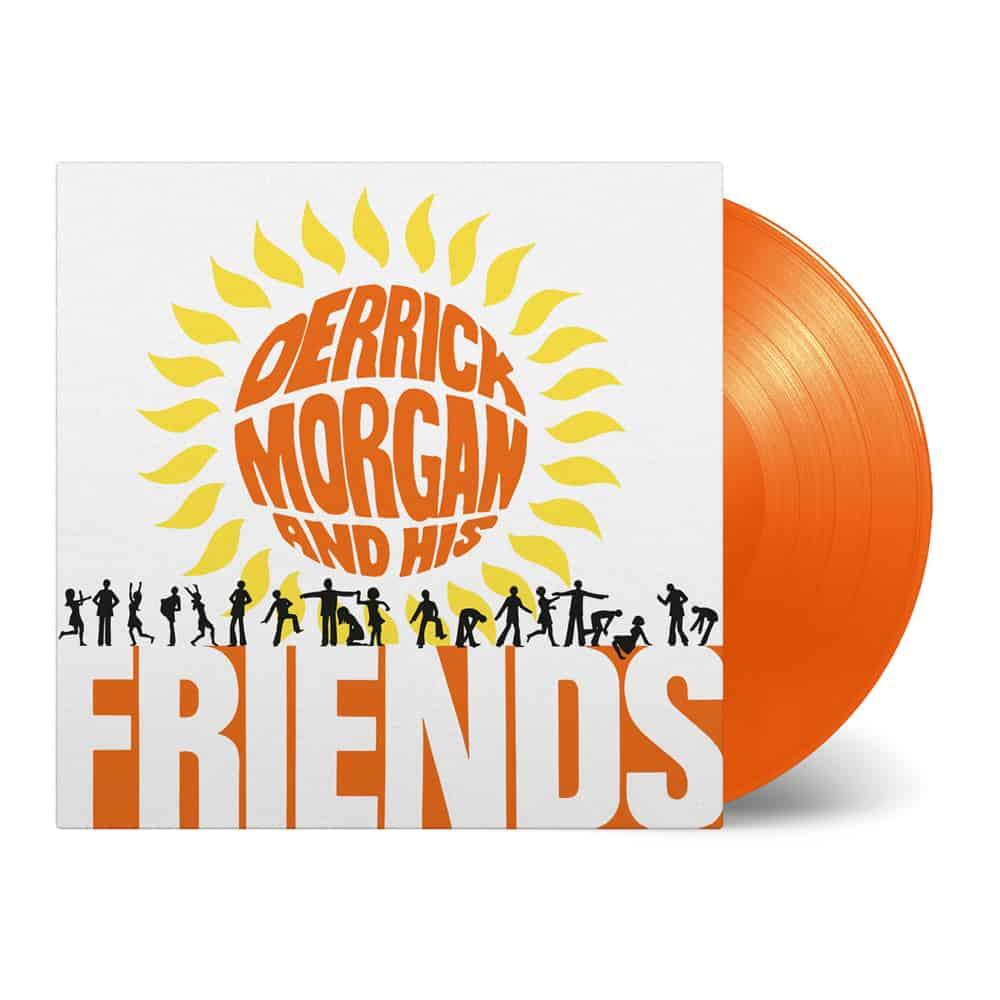 Buy Online Derrick Morgan - Derrick Morgan and His Friends Orange Vinyl