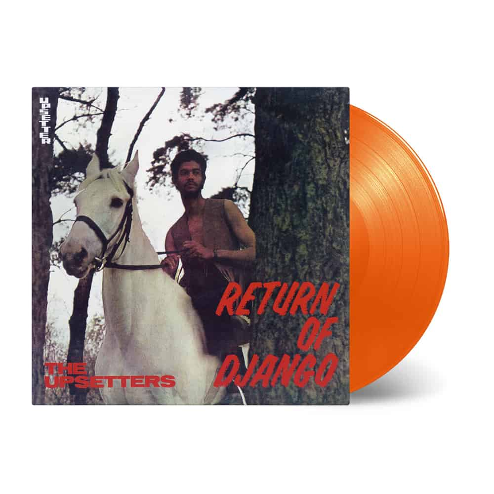 Buy Online The Upsetters - The Return Of Django Orange Vinyl