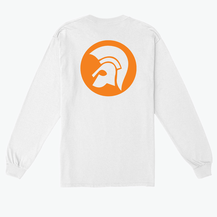 Buy Online Trojan Records - Trojan Logo Long Sleeve T-Shirt