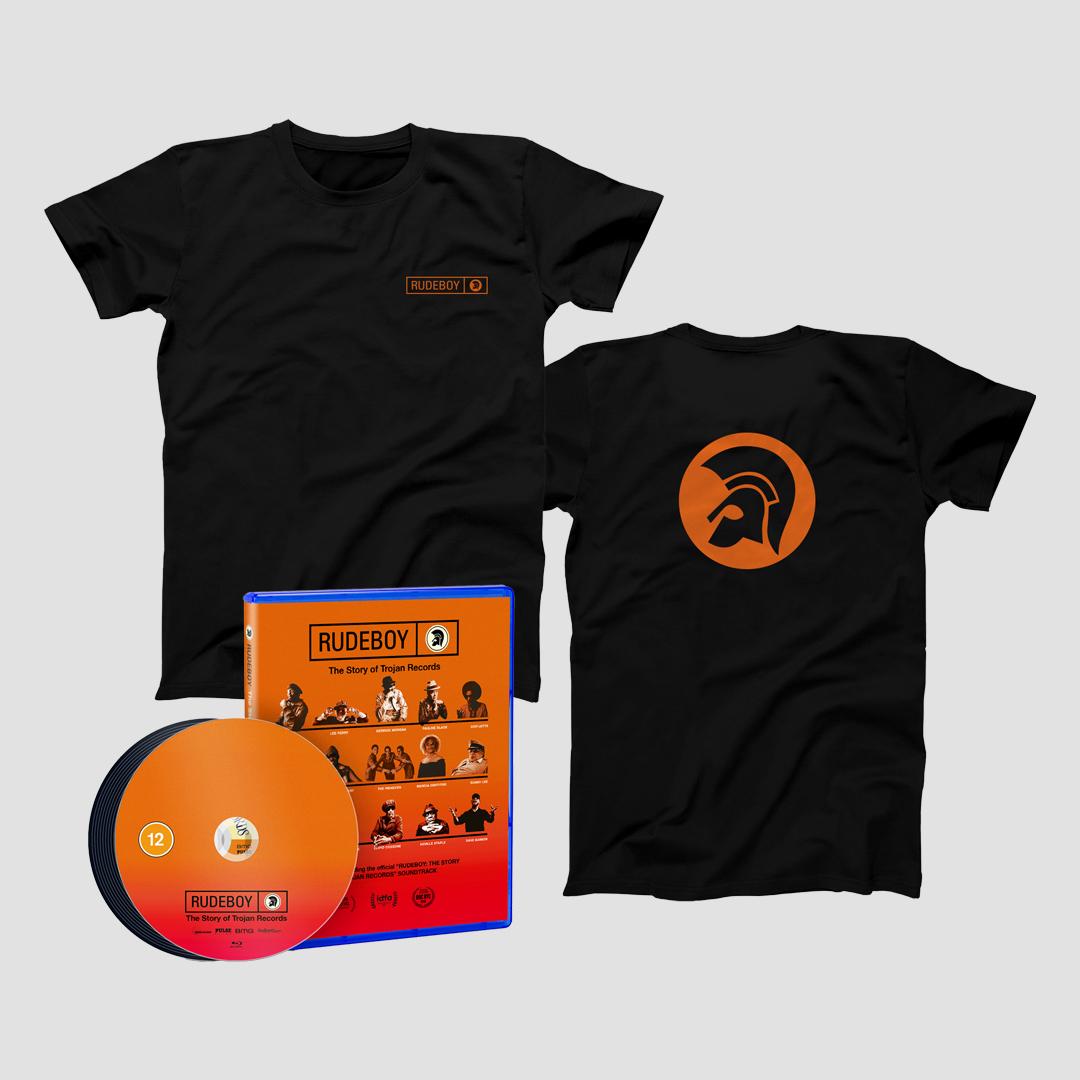 Buy Online Trojan Records - Rudeboy: The Story of Trojan Records Blu-Ray w/CD + T-Shirt