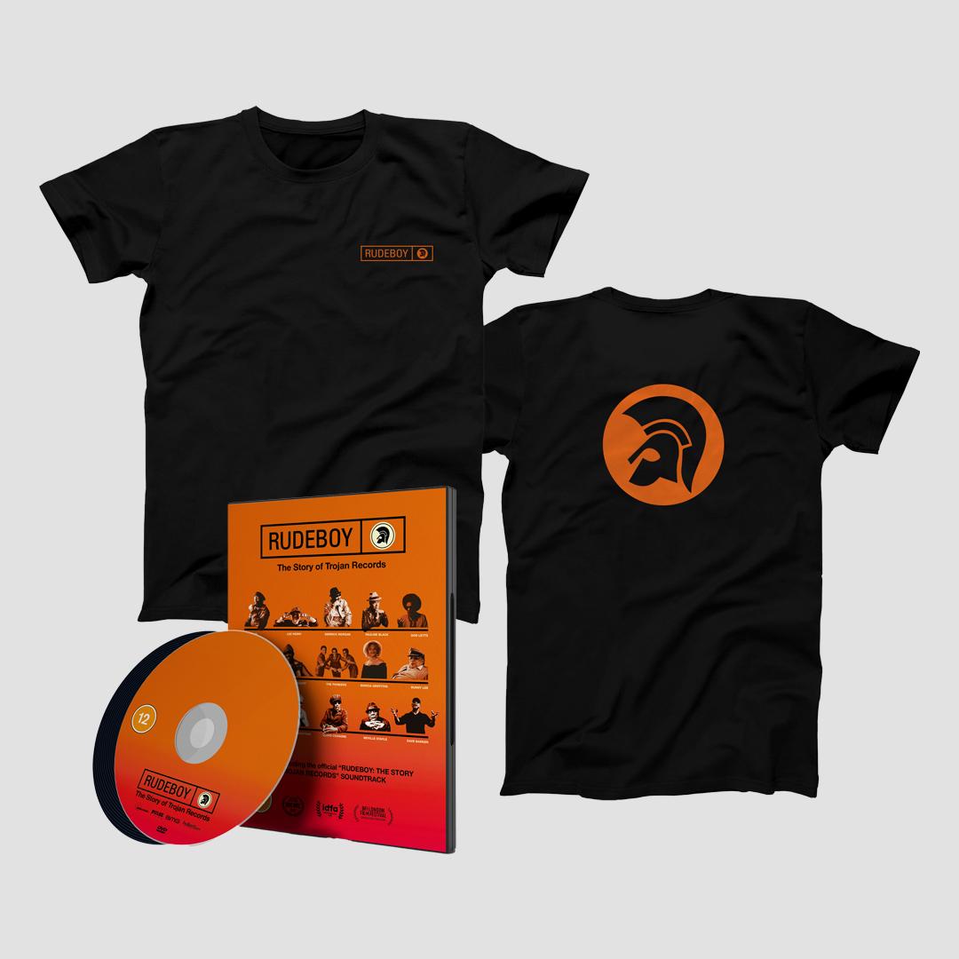 Buy Online Trojan Records - Rudeboy: The Story of Trojan Records DVD w/CD + T-Shirt