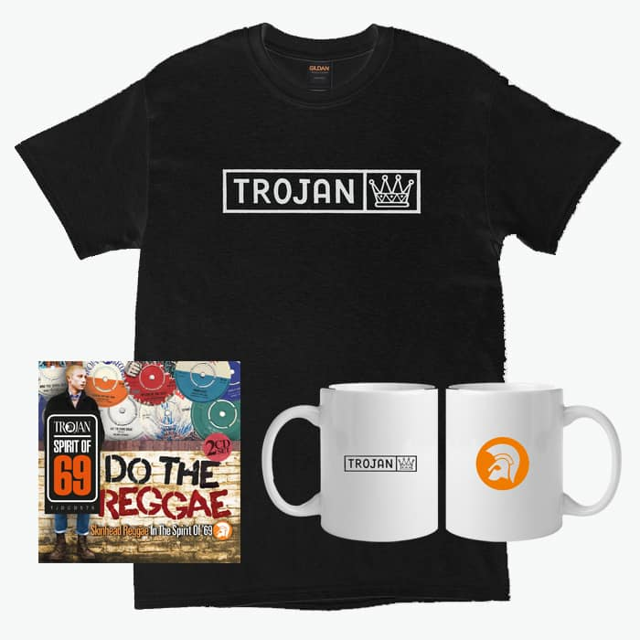 Buy Online Trojan Records - Do The Reggae T-Shirt Bundle