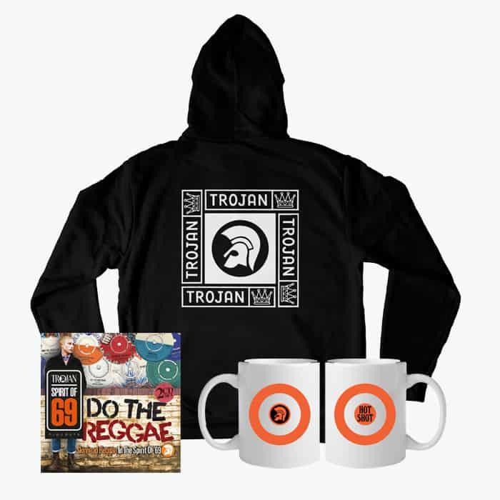 Buy Online Trojan Records - Do The Reggae Hoodie Bundle