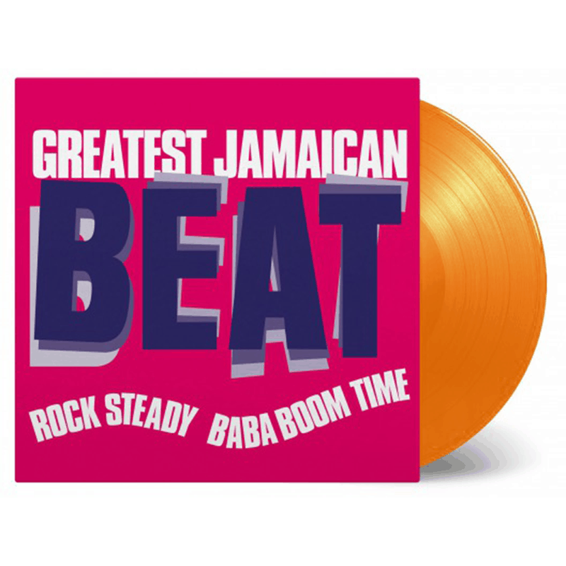 Buy Online Various Artists - Greatest Jamaican Beat (Rock Steady Baba Boom Time) Orange Vinyl