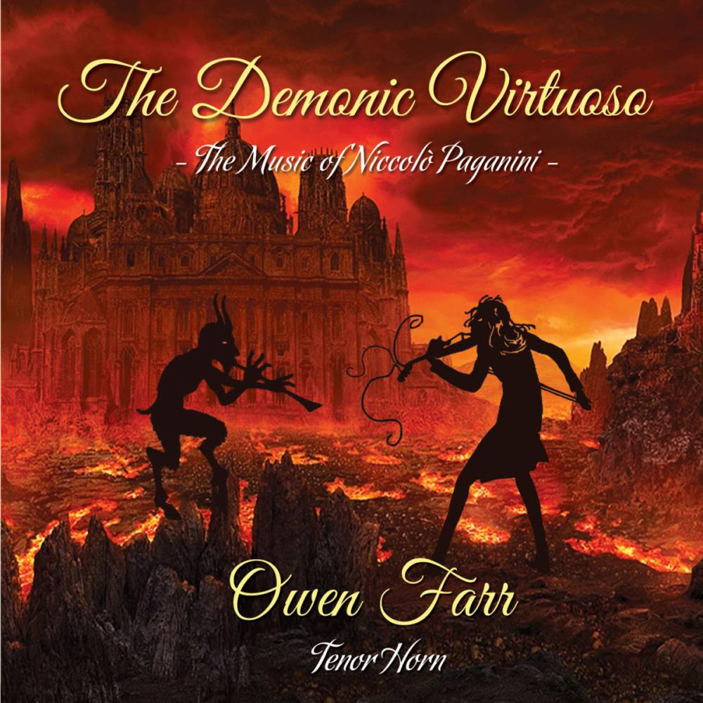 Buy Online Owen Farr - The Demonic Virtuoso: The Music Of Niccolo Paganini CD Album