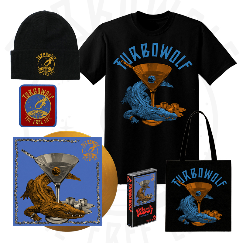Buy Online Turbowolf - The Free Life - Deluxe LP Package (Signed)