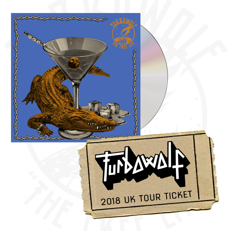 Buy Online Turbowolf - The Free Life CD (Signed) + 2018 UK Tour Ticket