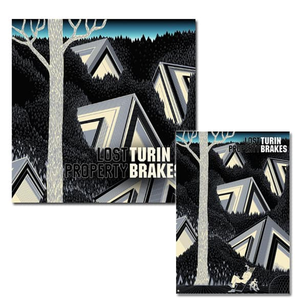 Buy Online Turin Brakes - Lost Property Heavyweight LP with Exclusive Art Print