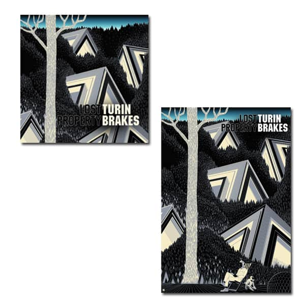 Buy Online Turin Brakes - Lost Property CD with Exclusive Art Print