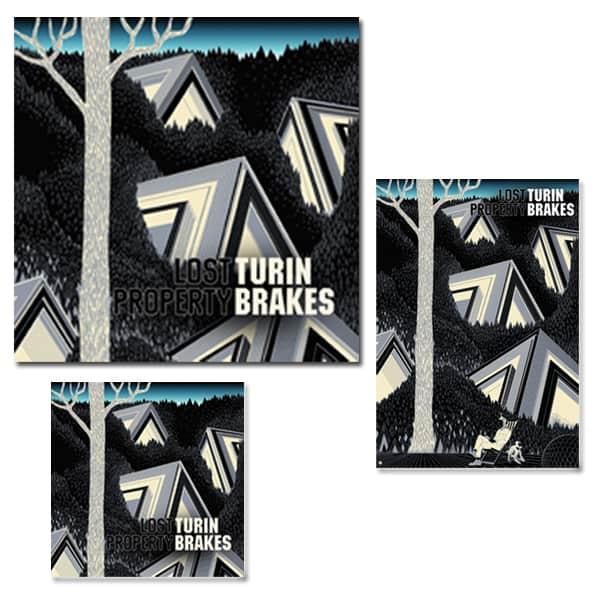 Lost Property CD, LP and Signed Art Print  Bundle