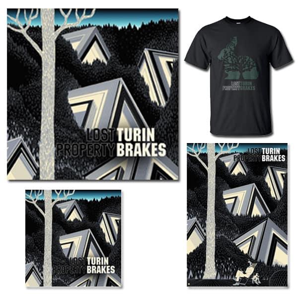 Lost Property CD, LP, Signed Art Print and T-Shirt bundle