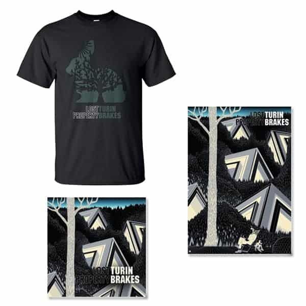 Lost Property CD, Signed Art Print and T-Shirt Bundle