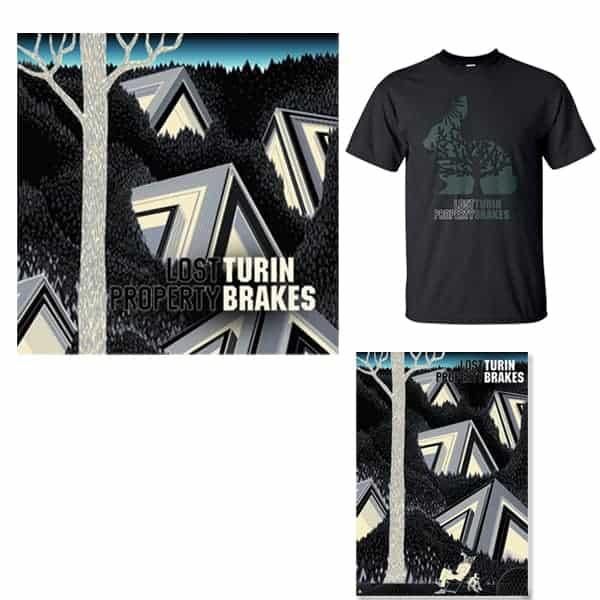 Lost Property LP, Signed Art Print and T-Shirt Bundle