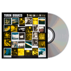Buy Online Turin Brakes - Invisible Storm CD + Signed Tour Print