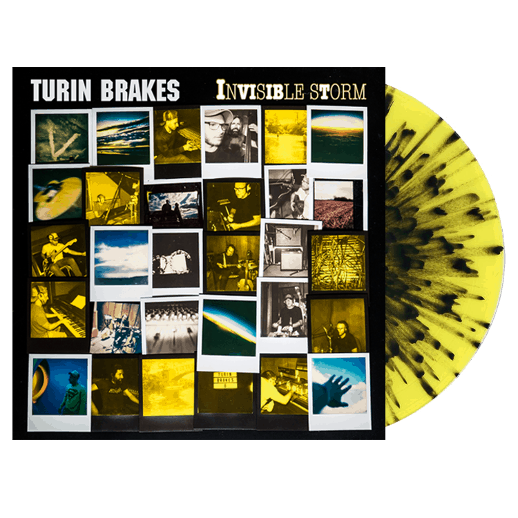 Buy Online Turin Brakes - Invisible Storm Ltd Edt Vinyl + Signed Photograph