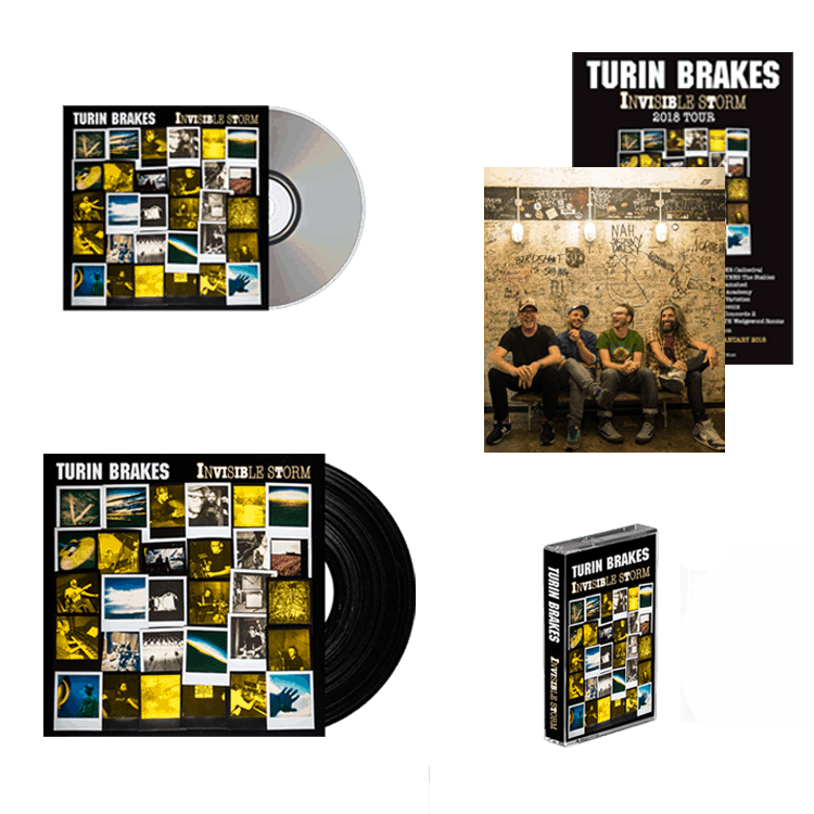 Buy Online Turin Brakes - Deluxe Bundle + Artwork