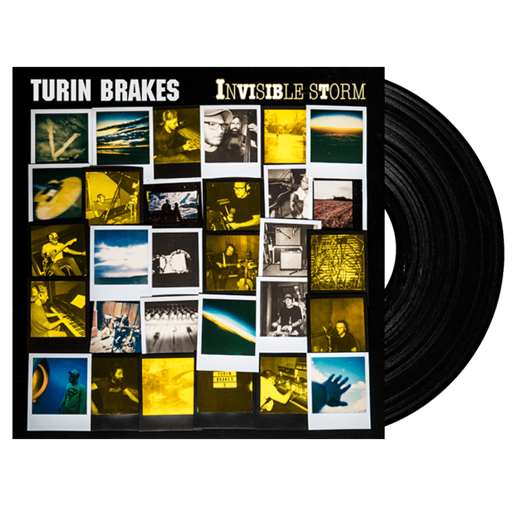 Buy Online Turin Brakes - Invisible Storm LP + Signed Photograph