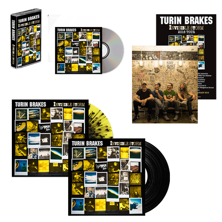 Buy Online Turin Brakes - Super Deluxe Bundle + Artwork