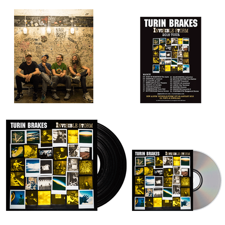 Buy Online Turin Brakes - LP, CD Bundle