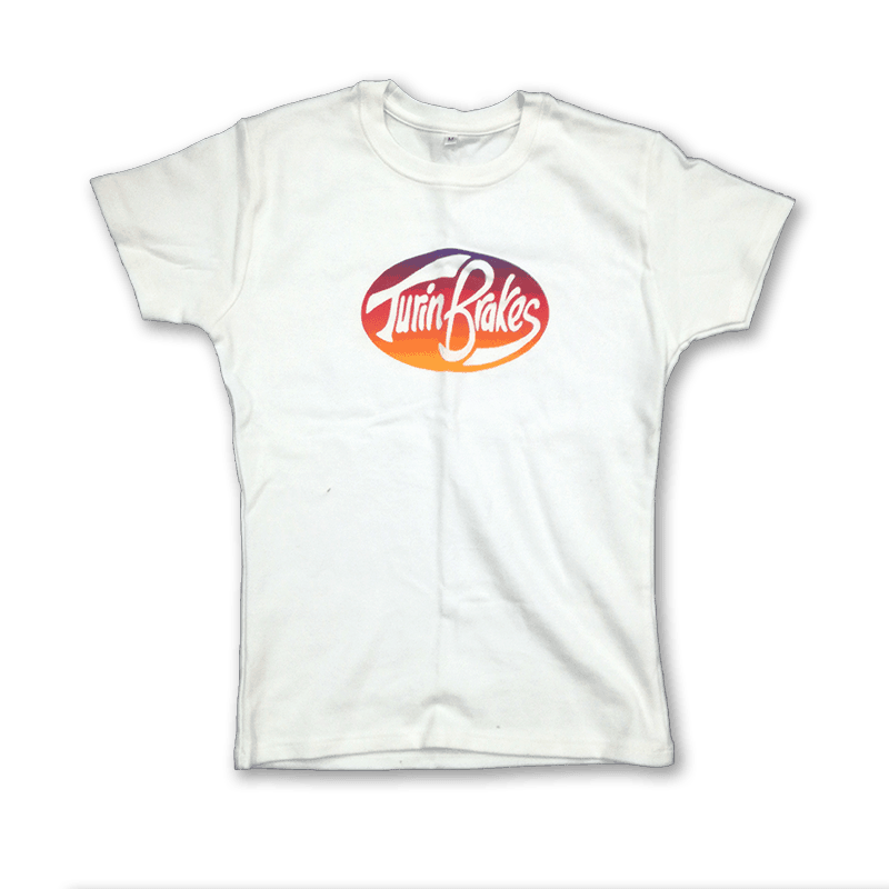 Buy Online Turin Brakes - Vintage Ladies White T-Shirt