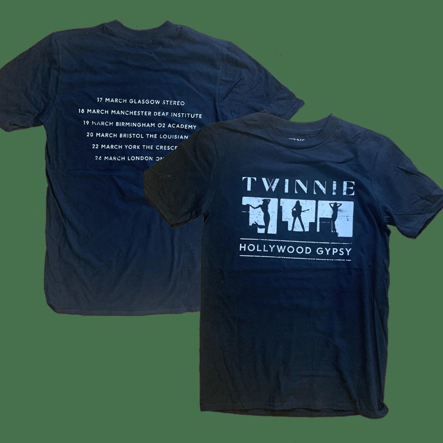 Buy Online Twinnie - Twinnie UK Tour Mono T-Shirt