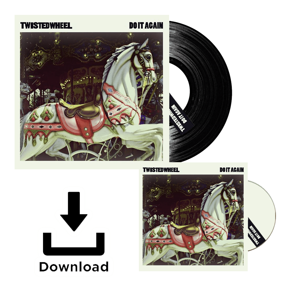 Buy Online Twisted Wheel - Do It Again CD / Vinyl Bundle