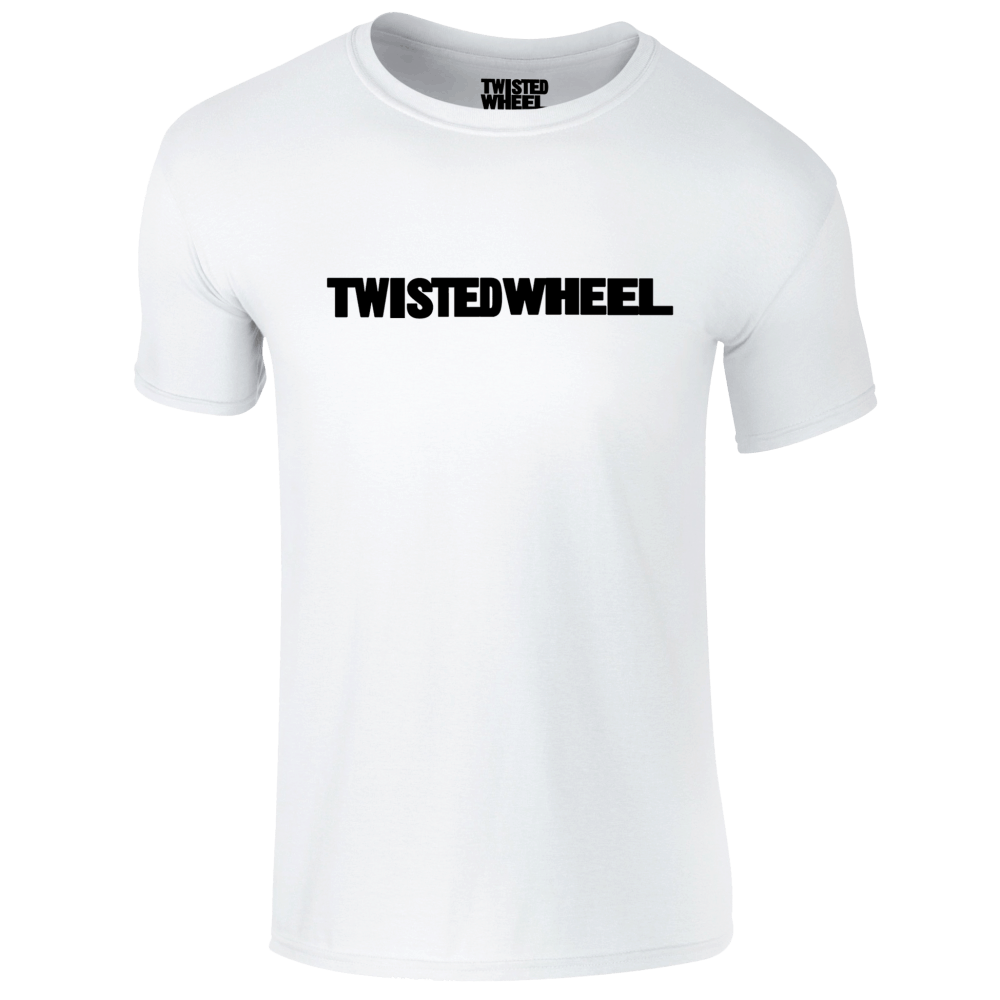 Buy Online Twisted Wheel - Twisted Wheel logo White T-Shirt