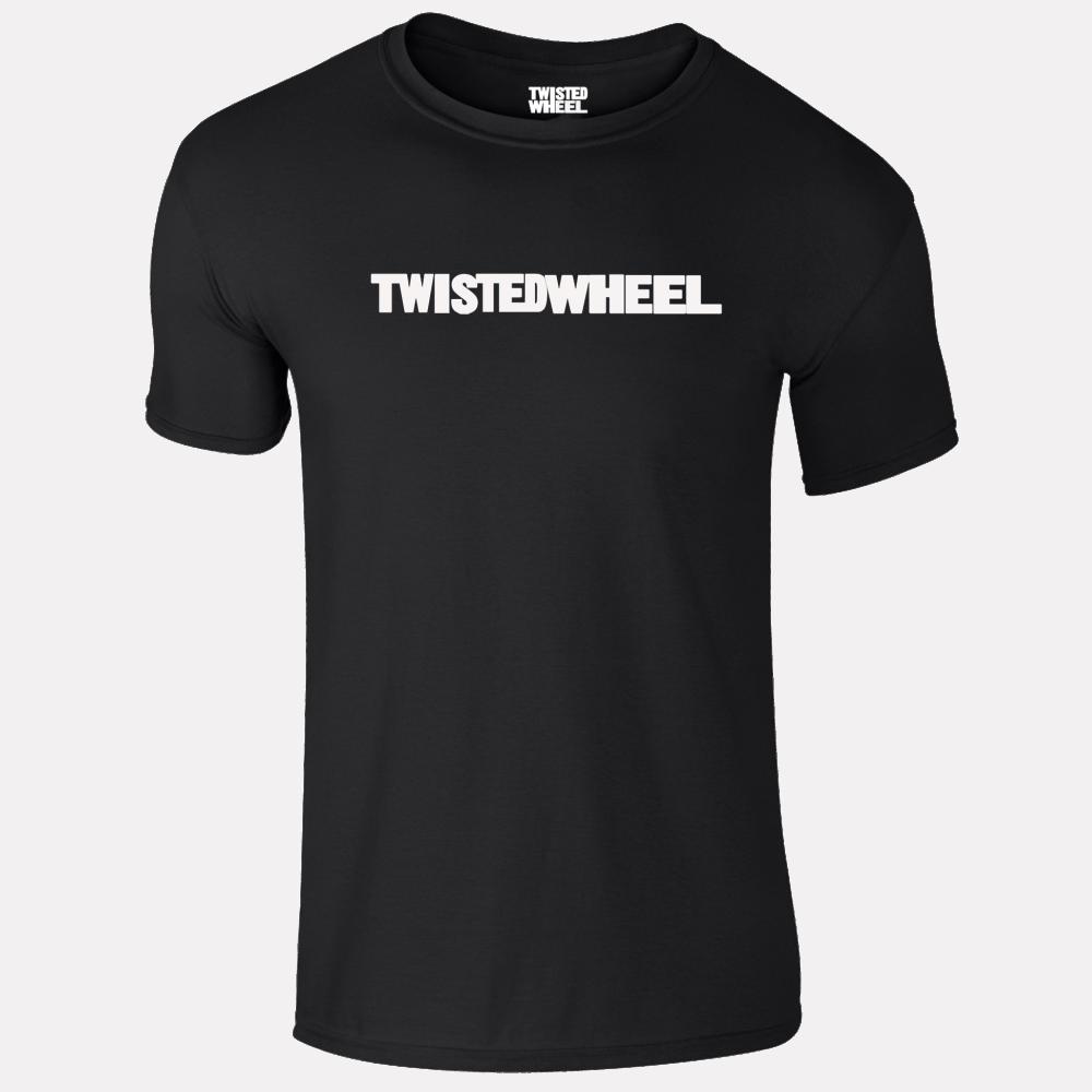 Buy Online Twisted Wheel - Twisted Wheel Logo Black T-Shirt