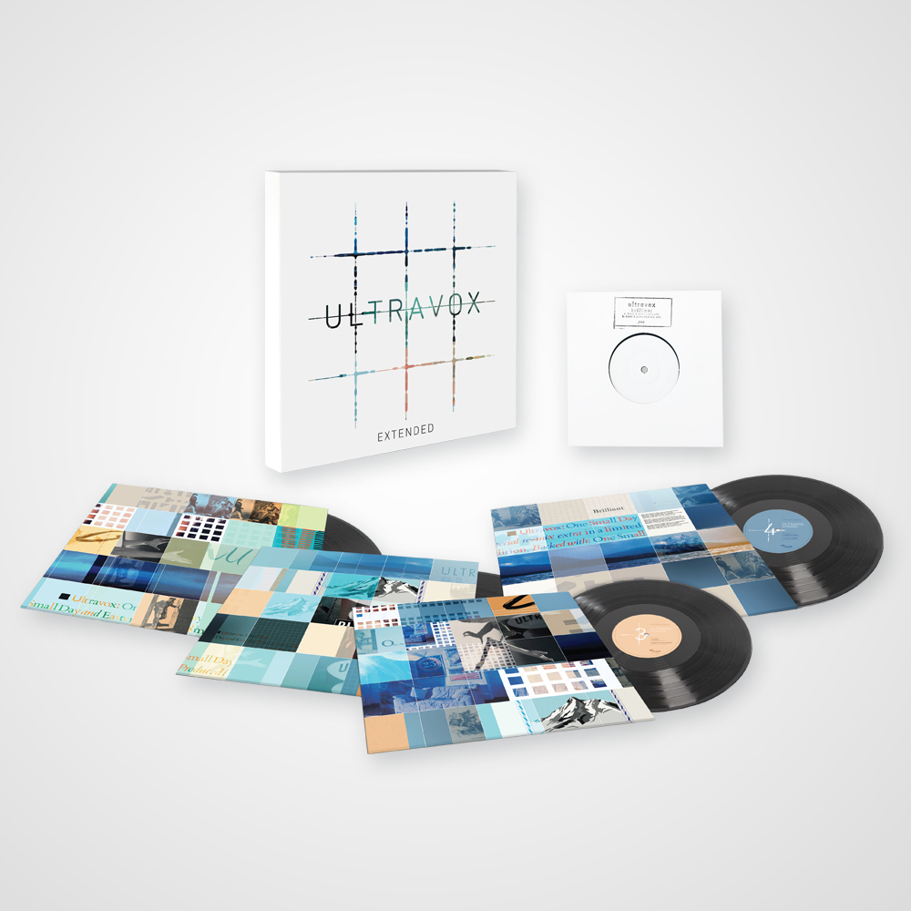 Buy Online Ultravox - Extended - The 12-Inch Remix Collection 4LP Limited Edition Vinyl Boxset