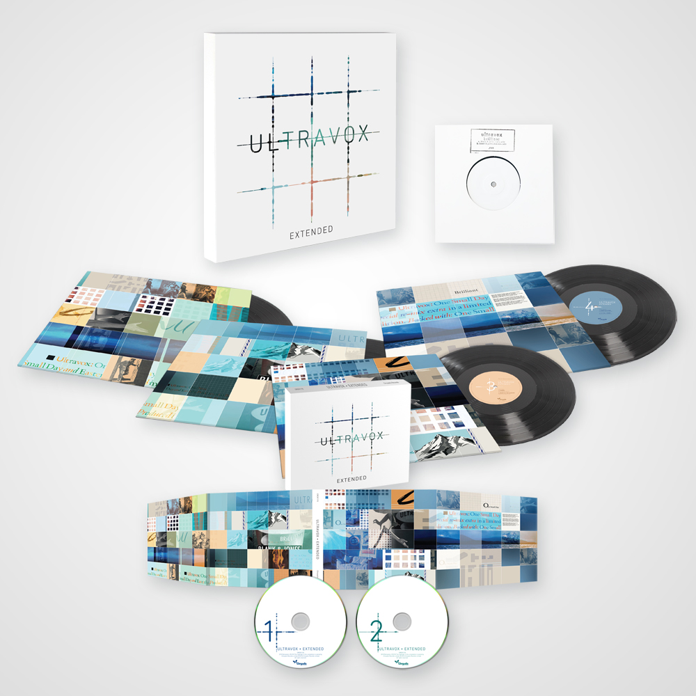 Buy Online Ultravox - Extended - The 12-Inch Remix Collection 4LP Limited Edition Vinyl Boxset + 2CD Album