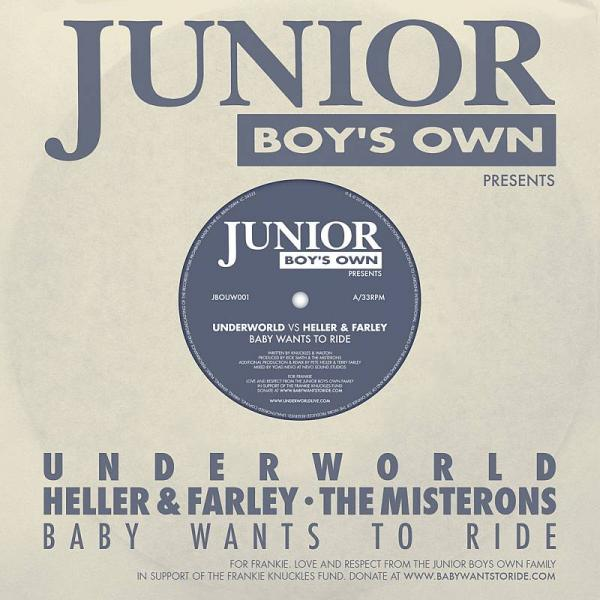 Buy Online Underworld, Heller & Farley, The Misterons - Baby Wants To Ride
