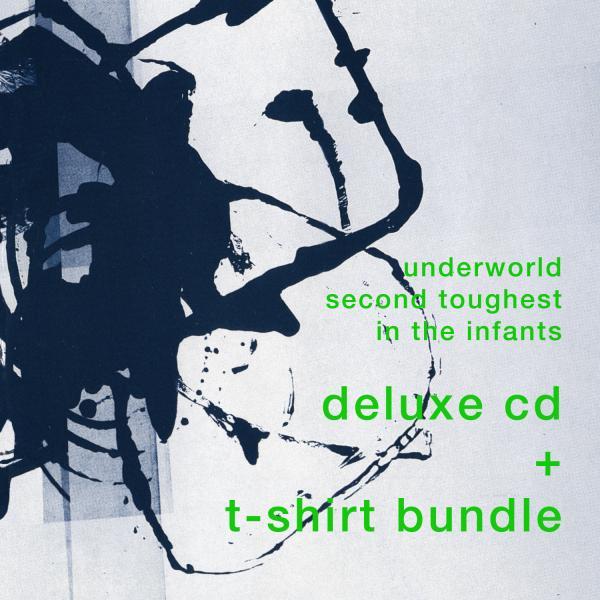 Buy Online Underworld - Deluxe 2CD & album artwork T-Shirt
