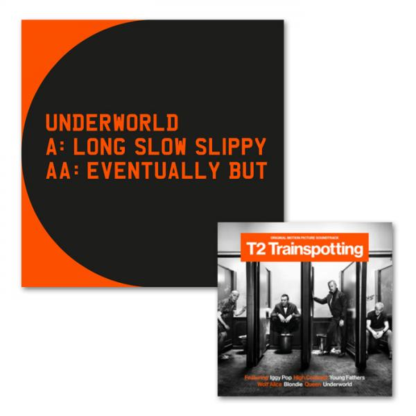 Buy Online Underworld - Long Slow Slippy 12-Inch Vinyl + Trainspotting 2: OST CD Album