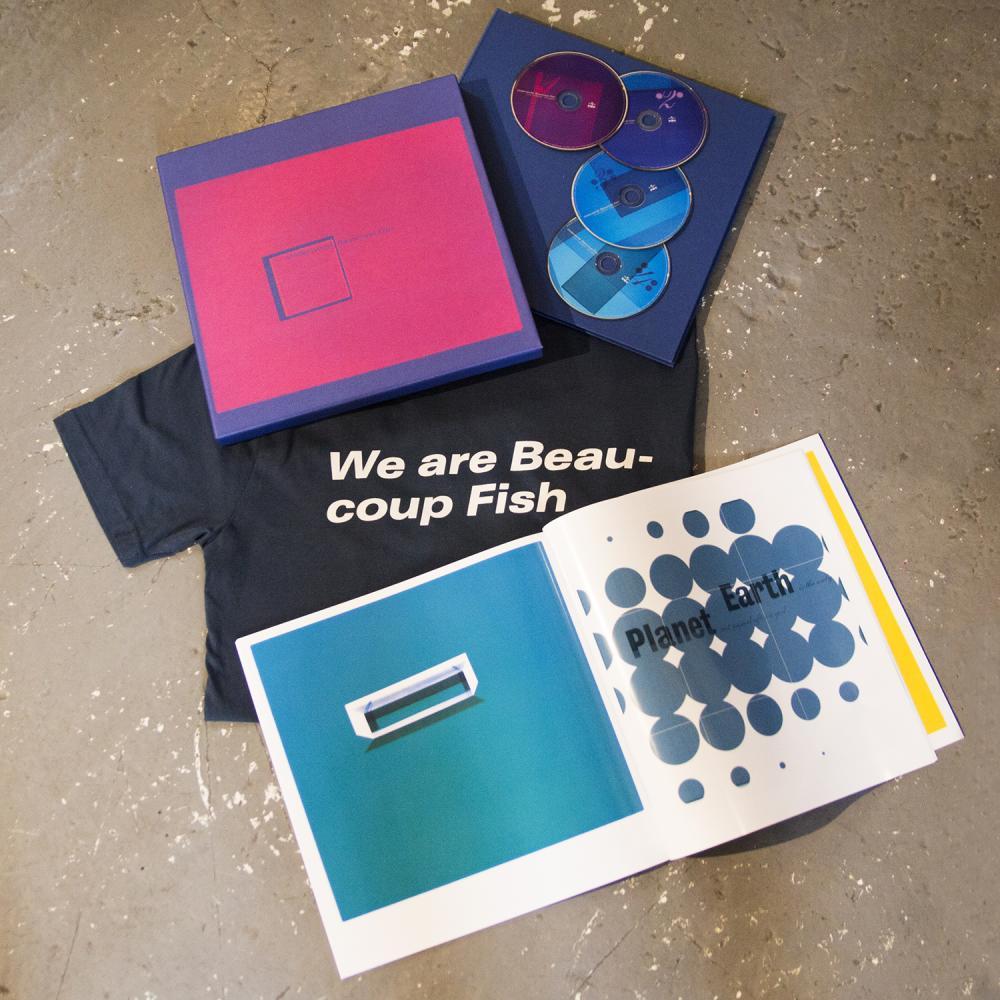 Buy Online Underworld - T-Shirt + Beaucoup Fish Super Deluxe 4CD Album Bundle