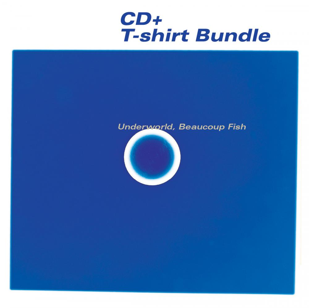 Buy Online Underworld - T-Shirt + Beaucoup Fish CD Album Bundle